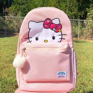 Sanrio Hello Kitty Large Pastel Pink Backpack
